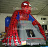 PVC Tarpaulin Inflatable Commercial Bouncer House E for Sale