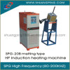 20kw 200kHz High Frequency Induction Melting Machine Spg-20b