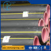PE Plastic Gas Pipe with Black Color