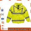 Yellow Reflective High Visibility Clothing Safety Jacket