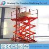 500kg Load Capacity Electric Scissor Lift for Workshop Construction