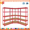 Corner Metal Display Pallet Supermarket Shelf Rack (ZHr380)