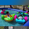 HDPE Blow Plastic Inflatable Pool One Person Paddle Boat