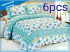 6 Pieces Fresh Cotton Bedding Quilt (set)