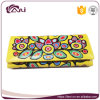 Latest Fashion Design PU Leather Wallet for Girl, Flower Print Wallet Purse Wholesale