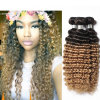Deep Wave Brazilian Hair 4 Bundles Brazilian Deep Wave 1b30 Blonde Brazilian Hair Weave Bundles Ombre Hair Extension