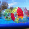 Colorful Inflatable Water Roller Zorb Ball for Water Game