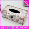 Wholesale Cheap Customize Houseware Wooden Tissue Box Cover W18A005