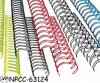 Metal Double Loops Binding Printing Packing Nylon Plastic Spiral Wire O