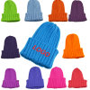 BSCI Assorted Color Acrylic Winter Child Knitted Beanie Hat