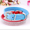 Wholesale Waterproof Pet Accessory Fashion Round Leather Pet Dog Collar