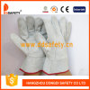 Ddsafety 2017 Cow Split Leather with Natural Color Split on Palm Glove