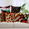 Retro Cushion Printed Cushion Fashion Decorative Cushion (LCL04-390)