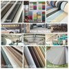 Factory Direct 100% Polyester Plain Roller Blind Fabric