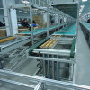 Gravity Roller Conveyor Assembly Line for Pallet Delivery