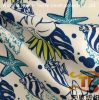 2018 New China Textile Satin Peach Fabric Recycled Microfiber Printed Fabric for Garment