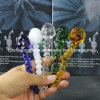 Fashion Style Glass Dabber Tools with Skull Shape for Glass Water Pipe