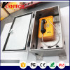 Waterproof Telephone Box with Industrial Telephone Knsp-09 Fsd Telephone Panel