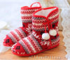 Women′s Indoor Shoes Knitted Indoor Boots Women′s Indoor Boot Socks