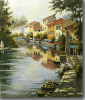 100% Handmade Canvas Oil Painting