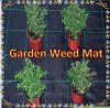 Plant Weed Block Mulch, Weed Barrier Fabric Garden Weed Mat