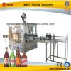 Automatic Beer Glass Bottle Filling Capping Machine