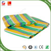 Hot Selling Durable Colorful Strip Plastic Tarpaulin