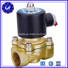 Brass High Pressure Pneumatic Water Control Shut off Pull Steam Solenoid Valve