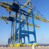 Electric Travelling Portal Container Lifting Crane / Portable Jib Crane