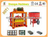 Shengya Brand Qtj4-40b Hand Press Cement Interlocking Lego Brick Machine