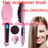 100% Factory Providing Digital Hair Straightener Brush Comb