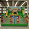 Inflatable Animal Slide with Bouncy Castle