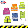 ANSI Class2 Black/ Green Factory Reflective Safety Vest with Pocket