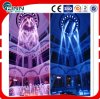 Special Design Decorative Garden with Colorful LED Light Indoor or Outdoor Water Curtain