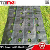 China Factory Supply Black and Green PP Woven Weed Mat