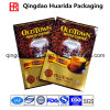 Flexible Coffee Bean Plastic Packaging Bag with Custom Logo