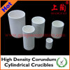 High Density Corundum Cylindrical Crucibles