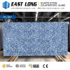 Customized Blue Marble Color Aartificial Quartz Stone Slabs