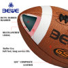 Factory 4 Pillar Promotion high Quality Leather Custom Rubber Rugby Ball Logo