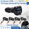 Cigar Lighter TPMS Internal Sensor Tire Pressure Monitor System