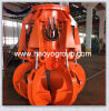 Electric Hydraulic Scrap Motor  Grab Bucket