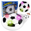 Air Power Soccer Football Indoor Outdoor Hover Ball Game with Foam Bumpers and Light up LED