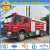 Sinotruk HOWO 6 Wheels 12 Tons Water Tanker Foam Fire Fighting Truck
