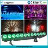 DMX 12X25W Rgbaw 5in1 LED Linear Light Stage Lighting