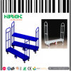 Steel Platform U Boat Trolley Cart