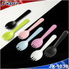 Jx1030 Colorful PS Plastic Cake Spork Widely Used