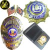 High Quality Custom Metal 3D Gold Silver Enamel Printing Military Army Flag Police Pin Badge