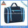 Navy Waterproof Custom Cosmetic Travel Kit Organizer Hanging Toiletry Bag