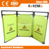 Collapsible Expandable Portable Work Fabric Barrier