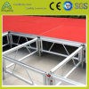 1.22m*1.22m Stage Performance Equipment Aluminum Portable Plywood Stage